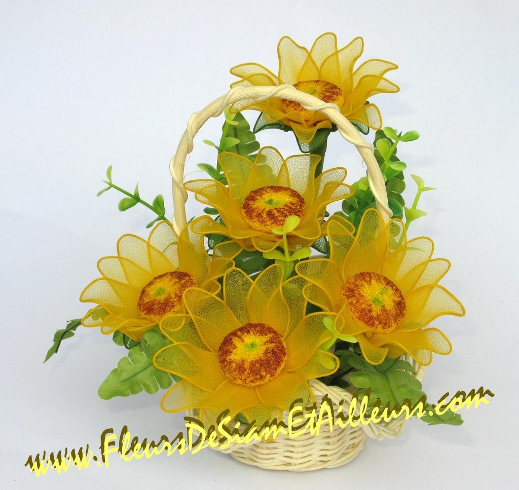 Цветы из капроновых колготок своими руками мастер класс